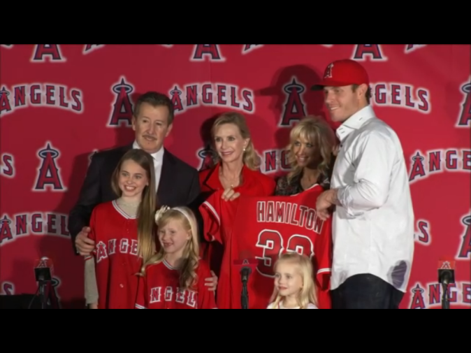 Josh Hamilton's Introduction at the Angels' Press Conference on December 15, 2012